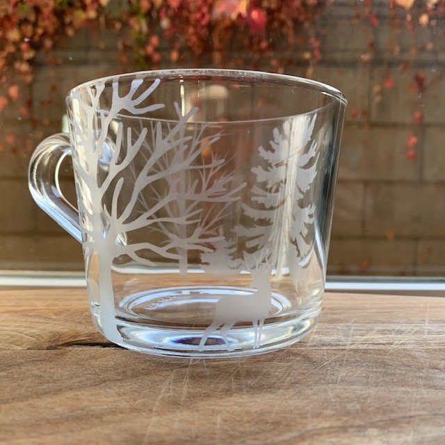 mug winter trees